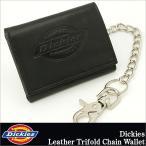 【予約】 ディッキーズ Dickies 財布 財布 メンズ 三つ折り ブランド チェーン ウォレット 財布 メンズ 本革 革 レザー 小銭入れなし USAモデル