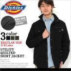 ディッキーズ Dickies ジャケット メンズ 大きいサイズ アウター ブルゾン 防寒 シャツジャケット ミリタリー キルティング アメカジ ジャケット