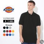 ディッキーズ (Dickies) ポロシャツ メンズ 半袖 無地 アメカジ メンズ ブランド 半袖ポロシャツ メンズ ポロシャツ 半袖 メンズ 無地