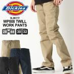 ディッキーズ Dickies チノパン メンズ スリム ワークパンツ カーキ ベージュ ブラック 大きいサイズ チノパン アメカジ Dickies ディッキーズ