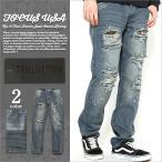ジーンズ メンズ ダメージ 大きいサイズ メンズ ダメージジーンズ ダメージデニム デニム ジーンズ ダメージ加工 デニムパンツ メンズ