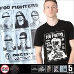 LIVE NATION (ライブネーション) tシャツ メンズ 半袖 プリント バンド tシャツ foo fighters (フー・ファイターズ) ロックtシャツ バンドtシャツ