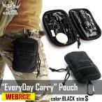 エブリデイキャリーポーチ EveryDay Carry pouch ブラック Sサイズ GARUDA ガルーダ