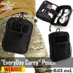 エブリデイキャリーポーチ EveryDay Carry pouch ブラック Lサイズ GARUDA ガルーダ