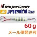 メジャークラフト ジグパラ スロー 60g #07 ゼブラグロー 786765