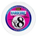 デュエル ハードコアX8 300m 2.0号 5色 421122