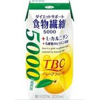 森永乳業 TBC ダイエットサポート食物繊維グレープフ