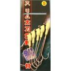ドラゴン・マルシン スリム太刀魚針鉛付 タチウオトローリング・引き釣り用(メール便対応)