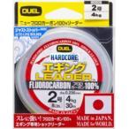 デュエル/DUEL ハードコア エギングリーダー 30m 1.5,1.75,2,2.5号 フロロカーボンハリス・リーダー 国産・日本製(メール便対応)