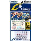 オーナー/OWNER カルティバ/Cultiva アジ弾丸 JH-84 0.6, 0.8, 1, 1.2, 1.5, 1.8, 2.3, 3g ライトゲームアジ・メバル用ジグヘッド(メール便対応)