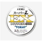 (限定特価・60%OFF)東レ・TORAY・トヨフロン スーパーL EX ハイパー 50m 1.2, 1.5, 1.7, 2, 2.5, 3号 フロロカーボンハリス・リーダー(メール便対応)