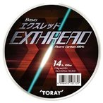 TORAY バウオ エクスレッド 80m 18,20Lb 4.5,5号 フロロカーボンライン(メール便対応)