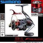 【限定品】シマノ BB-X テクニウム ファイアブラッド ( C3000DXG S LEFT /左ハンドル) [SUT(スット)ブレーキタイプ] 2019年モデル /(5)