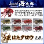 (5)一誠(issei) 海太郎 うまはたクロウ (2.8インチ) ロックフィッシュ用ワーム 【メール便配送可】