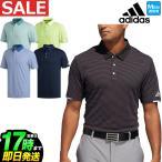 アディダス ゴルフウェアFRL87 PF climachill ストライプ S/S B.D. シャツ ポロシャツ (メンズ)