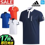 アディダス ゴルフウェア FVE50 ADICROSS チェストポケット S/S B.D.  ポロシャツ  (メンズ)