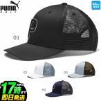 PUMA GOLF プーマ ゴルフ 022538 トラッカー P 110 スナップバック キャップ   (メンズ) 【U10】