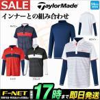 テーラーメイド ゴルフウェア LOA87 CA カラーブロックレイヤード シャツ ポロシャツ (メンズ)