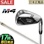 テーラーメイドゴルフ アイアン M4  4 REAX90 JP スチールシャフト S