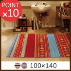 カジュアルカーペット ルピー RUPEE 100×140cm ホットカーペット 床暖房 対応 不織布 水洗い ウォッシャブル モリヨシ
