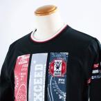 長袖Tシャツ パジェロ M-2Lサイズ11-1582-07-05  LT*M LT*L LT*2L 春夏物 ロゴ Pagelo ロンT 40代 50代 60代 スポーツ メンズ カジュアル ブラック