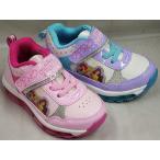 (B倉庫)ディズニー 6998 プリンセス アリエル ラプンツェル ベル 光る靴 子供靴 スニーカー キッズ シューズ 靴 女の子 キャラクター シューズ 靴