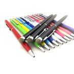 2 in 1 ボールペン&導電性繊維タイプ 液晶タッチペン28 iPhone iPod iPad スマホ スタイラスペン パズドラ ツムツム モンスト 人気 長