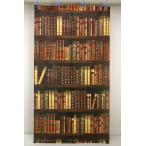 のれん/暖簾 BOOKSHELF (本棚) BR(ブラウン) 85cm×150cm [在庫共有品] 50021-VTRTの写真