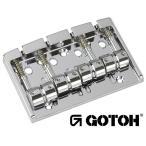 ゴトー【GOTOH】ベースブリッジ4弦 404SJ-4(クローム)