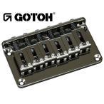 ゴトー【GOTOH】ギターブリッジ GTC101(ブラッククローム)