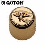 ゴトー【GOTOH】アートコレクション コントロールノブ(ホルスの眼)VK-Art-01(ゴールド)