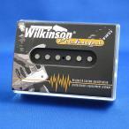 Wilkinson シングルコイル ギターピックアップ テレキャスター/WT-B リア オープンフェース(ブラック)