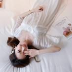 ネグリジェ パジャマ レディース 春夏 半袖ワンピース パジャマ レース ネグリジェ ロング丈ワンピ パジャマ 部屋着 大人可愛い セクシー オシャレ 2色