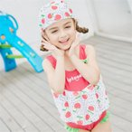 子供水着 女の子 ワンピース型水着 体型カバー 韓国風 分解可能 ふりょく ただよう 水着 可愛い 女の子 スイムウェア 温泉 スイムウエア ビーチ 子ども