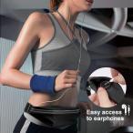 ウエストポーチ - ATiC ウエストバッグ ポケット2つ付き 防滴可能 蛍光顔料 伸縮性あり 調整でき 小物入れ(スマートフォン、イヤホン