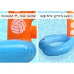 バレーボールゲーム - HeySplash 高密着度PVC素材 折りたたみ式 バレーボールネットとボールセット 子供おもちゃしても楽しみ -
