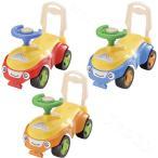 ハッピースマイル号 足蹴り乗用玩具 4輪 コンビカー