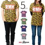 Tシャツ Red-Mohican ヒョウ柄 サブリメーション デザイン メンズ レディース 半袖 カットソー rmh-0001