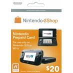 (3DS/WiiU)NINTENDO eShop Card $20(北米版)(新品)
