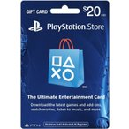 (ネコポス送料無料)(PS4/PS3/PSV/PSP)PLAYSTATION STORE GIFT CARD $20(北米版)(新品)