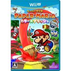 (ネコポス送料無料)(WiiU)ペーパーマリオ カラースプラッシュ(新品)
