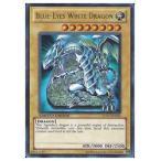 遊戯王 英語版・北米版 黄 BLUE-EYES WHITE DRAGON(U)(青眼の白龍)(LC01)