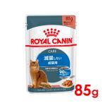 (正規品)ロイヤルカナン ウルトラライト ウェットパウチ 体重管理が難しい猫用 85g