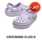 【クロックス キッズ】Crocband Kids/クロックバンド キッズ/ラベンダーxネオンパープル