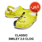 【クロックス メンズ レディース】Classic Smiley 2.0 Clog / クラシック スマイリー 2.0 クロッグ/マルチ