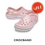 【クロックス crocs メンズ レディース】crocband/クロックバンド/パールピンクxワイルドオーキッド