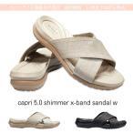 クロックス レディース crocs カプリ シマー エックス バンド サンダル ウィメン capri 5.0 shimmer x-band sandal