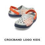 【クロックス crocs キッズ】crocband logo kids/クロックバンド ロゴ キッズ