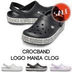 クロックス メンズ レディース crocs クロックバンド ロゴ マニア クロッグ crocband logo mania clog
