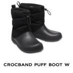 【クロックス crocs レディース】crocband puff boot w/ クロックバンド パフブーツ ウィメン